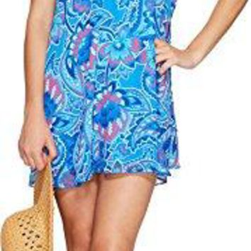 Show Me Your Mumu Women's Circus Mini Dress Blueberry Paisley Dress