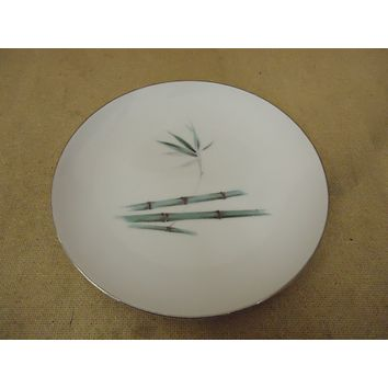 Sango Vintage Dinner Plate 10 1/8in Diameter Japan Bamboo Knight China -- Used