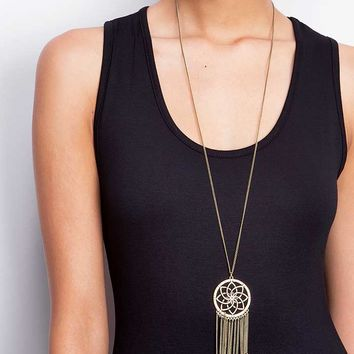 Lotus+Catch+Necklace