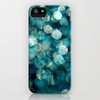shades of turquoise iPhone Case by ingz