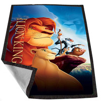 disney lion king d0750365-34ae-443d-ae87-87457d34ccf7 for Kids Blanket, Fleece Blanket Cute and Awesome Blanket for your bedding, Blanket fleece *02*
