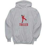 Triller Dance Red Jacket Video MJ Red Jacket Sweater Hoodie