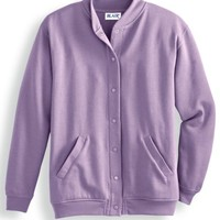 Women's Fleece Snap Front Jacket | Blair