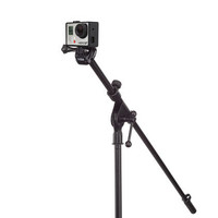 GoPro Mic Stand Mount | Mount your GoPro to a mic stand to capture footage during practice or performance.