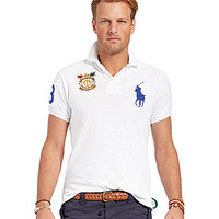 Polo Ralph Lauren Big & Tall Classic-Fit Big Pony Mesh Polo Shirt - Ya