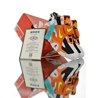 "Nike Air Barrage Mid QS ""Orange Black White"""
