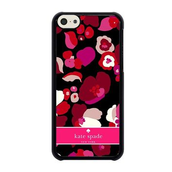 KATE SPADE NEW YORK FLORAL  iPhone 5C Case Cover