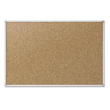 Mead® Economy Cork Board with Aluminum Frame