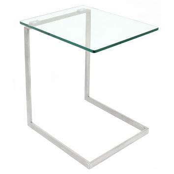 Zenn End Table, Glass