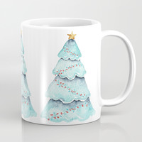 christmas tree Coffee Mug by Sylvia Cook Photography