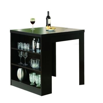 "Cappuccino Hollow-Core 32""X 36"" Counter Height Table"