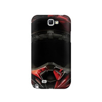 P1373 Motorcycle Helmet Case For Samsung Galaxy Note 2