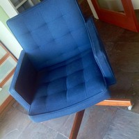 Royal Blue Knoll Desk Chair