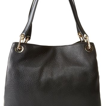 Michael Kors Women's Raven Large Leather Shoulder Bag