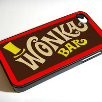 Wonka Bar - iphone 4 case,  iphone case,  iphone 4s case,  iphone 4s,  iphone 4 cover,   iphone hard case,  iphone 4, iphone