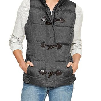 Gap Women Factory Toggle Vest