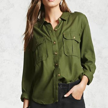 Utility Button-Down Shirt
