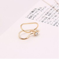 Fashion Unicorn Brincoss Girls Earing Bijoux Aros Flower Clip Ear Cuff Earrings For Women Jewelry Earings One Direction