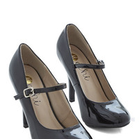 ModCloth Rockabilly Patent Office Heel in Ink