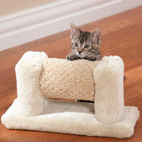 Interactive Cat Toys: Star Chaser Cat Toy with built in Cat Scratch Pad and Catnip