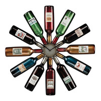 "Sterling Industries Oversized 29.5"" Wine Bottle Wall Clock"