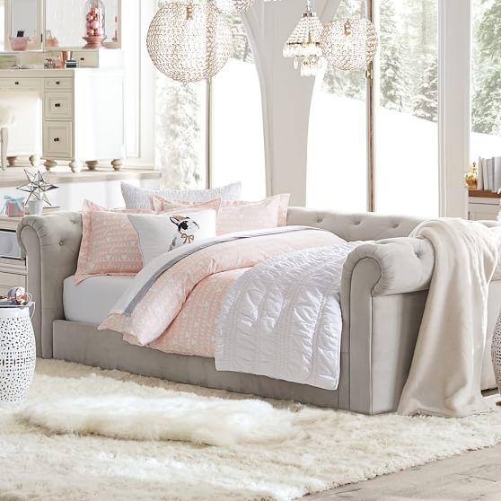 Cushy Roll Arm Daybed From Pbteen Home