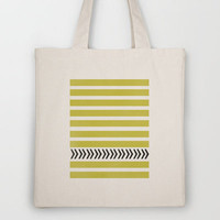 STRIPES AND ARROWS Tote Bag by Allyson Johnson