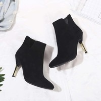 Dior Women Fashion high heel short boots