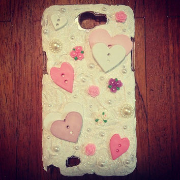 Samsung Galaxy Note 2 Phone Case by littledevildecoxo on Etsy