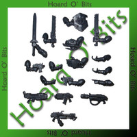 WARHAMMER 40K BIN BITS SPACE MARINE COMMAND SQUAD - WEAPON ARMS