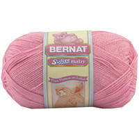 Softee Baby Yarn-Solids, Pink, Crochet Yarn, Knitting Yarn, Craft Supply