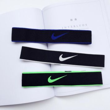 Day-First™ NIKE Sports Casual Letter Simple Hair Band Of Yoga And Fitness Headband Headband With Headbands