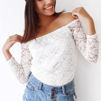 Arielle Shoulder Top