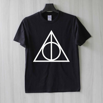 Deathly Hallows Harry Potter Shirt T Shirt Tee Top TShirt – Size XS S M L XL