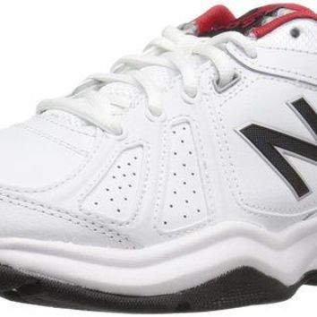 DCCK1IN new balance men s mx409v3 cross trainers white black 11 5 d m us