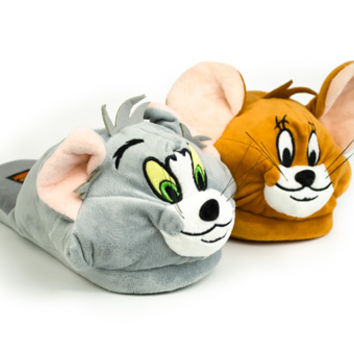 Tom & Jerry Slippers | Cartoon Character Slippers | BunnySlippers.com