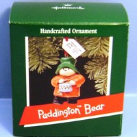 1989 Paddington Bear Hallmark Retired Ornament