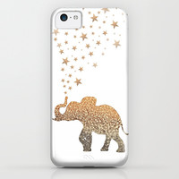 GATSBY ELEPHANT iPhone & iPod Case by Monika Strigel