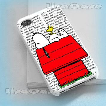Snoopy, iPhone case, iPhone 4/4S case, iPhone 5 Case, Samsung GAlaxy S3/S4 Case, Photo prind hard Plastic