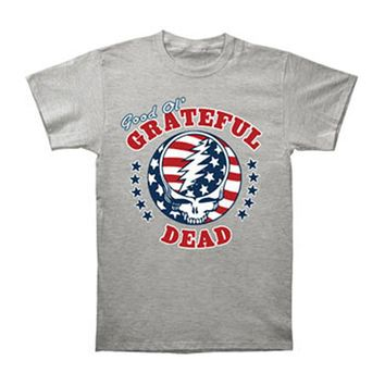 Grateful Dead Men's  SYF Independence T-shirt Grey Rockabilia