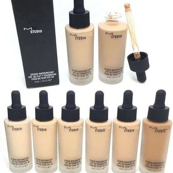 ac NOVQ2A Bottle Liquid Foudation Face Makeup Concealer Highlighter Natural Beauty Face Skin Cosmetic
