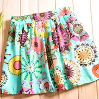 Fresh floral girl skirt tutu803 from cassie2013