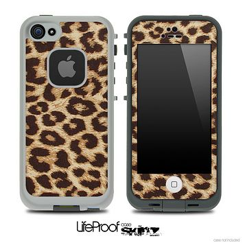 Simple Cheetah Skin for the iPhone 5 or 4/4s LifeProof Case