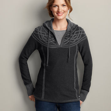 Mt. Shasta Cable Sweater | Eddie Bauer