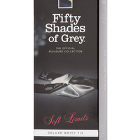 Fifty Shades Of Grey Soft Limits Deluxe Restraint Wrist Tie
