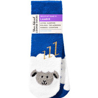 LAMBIE THE LAMBShea-Infused Lounge Socks
