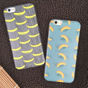 Banana Case Cover for iPhone 5s 6 6s Plus +Gift Box
