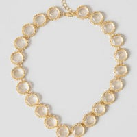 DELTA JEWELED NECKLACE