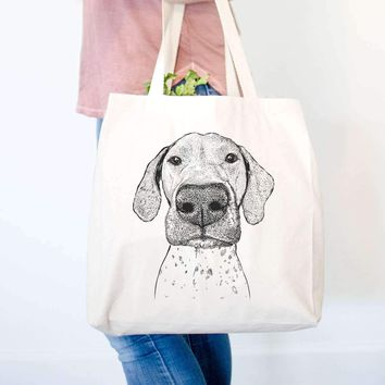 Leroy the German Shorthaired Pointer - Tote Bag