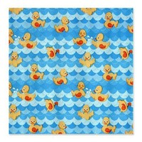 Rubber Ducky Shower Curtain on CafePress.com